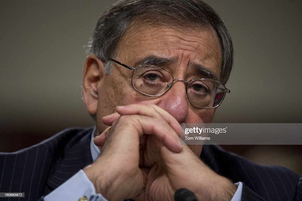Secretary of Defense Leon Panetta, testifies before a Senate Armed Services Committee hearing on the Defense Department's response to the attack on U.S. embassy in Benghazi, Libya, and discuss the findings of its internal review of the attack. Chairman of the Joint Chiefs of Staff Gen. Martin Dempsey, also testified.