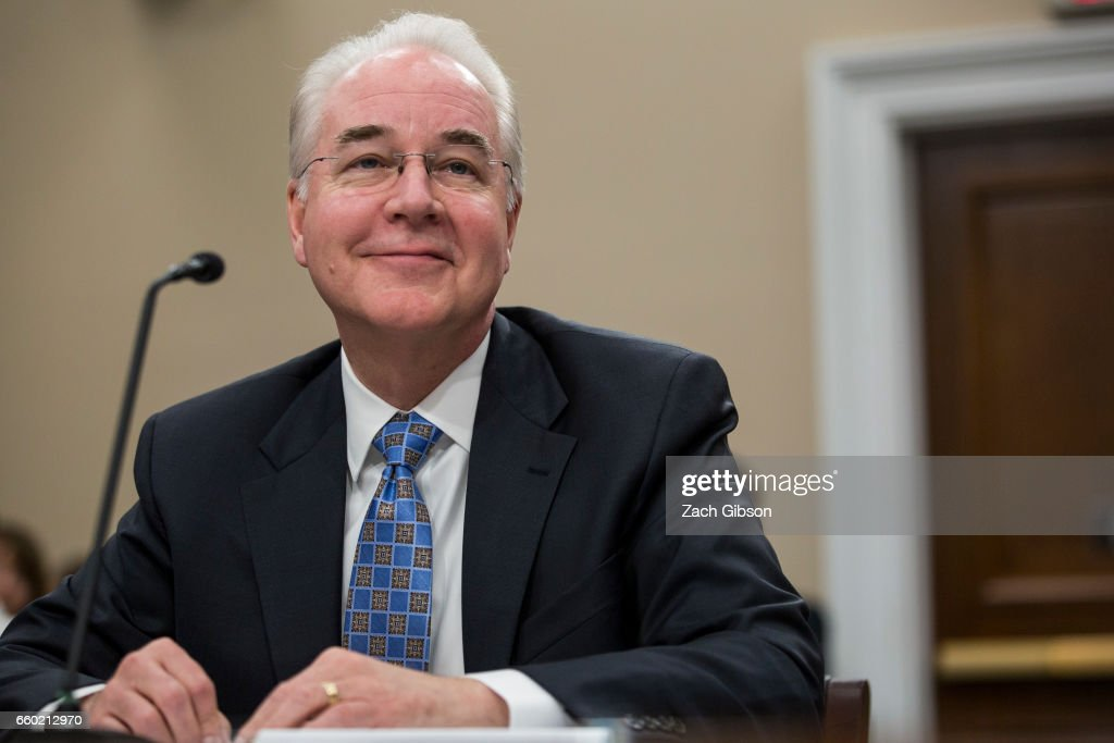 Tom Price Testifies At House Appropriations Cmte Hearing On HHS Budget