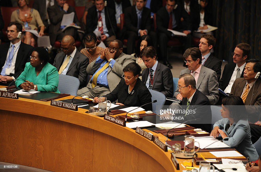 Condoleezza Rice Attends Roundtable On Zimbabwe At The ...