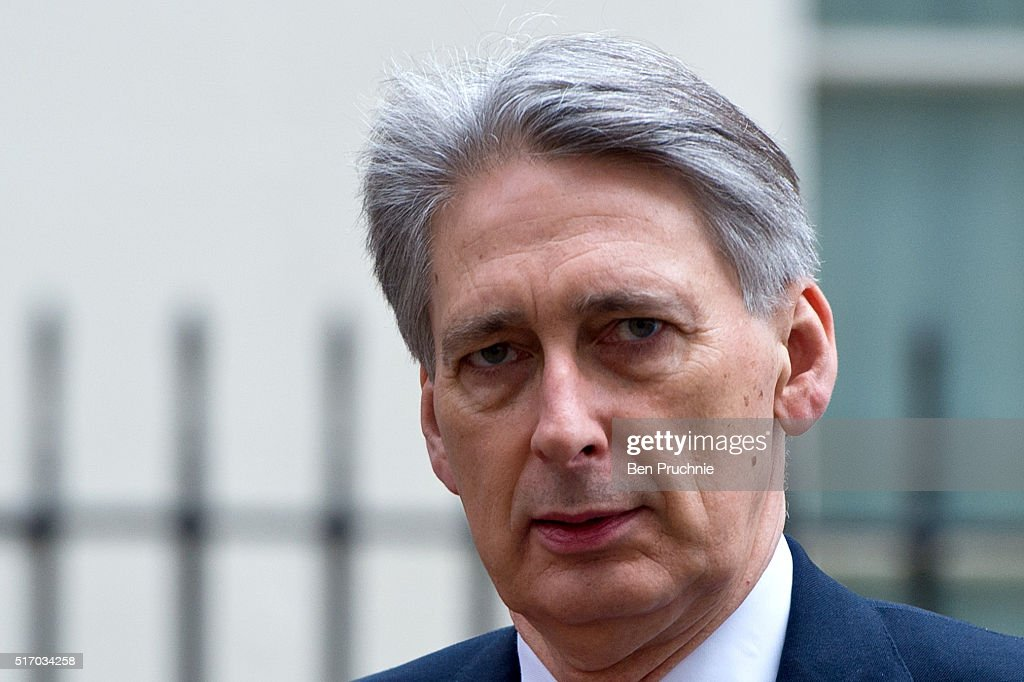 Secretary of State for Foreign and Commonwealth Affairs Philip Hammond departs Number 10 Downing Street on March 23, 2016 in London, England. David Cameron chaired a second Cobra meeting today in the wake of yesterday's Brussels attacks in which 34 people were killed. He said that UK security had been stepped up in the wake of 'a very real terror threat' across Europe. Home Secretary Theresa May will make a statement to the House of Commons following Prime Minister's Questions.