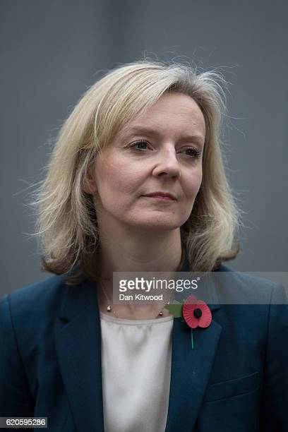 Secretary Of State For Justice Liz Truss visits HMP Brixton on November 1 2016 in London England Liz Truss is to deliver a major policy speech on...