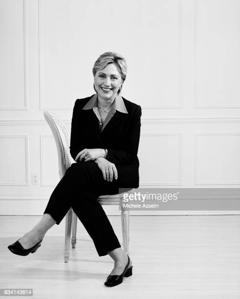 Secretary of State Hillary Clinton poses for a portrait shoot in 2003 in New York City