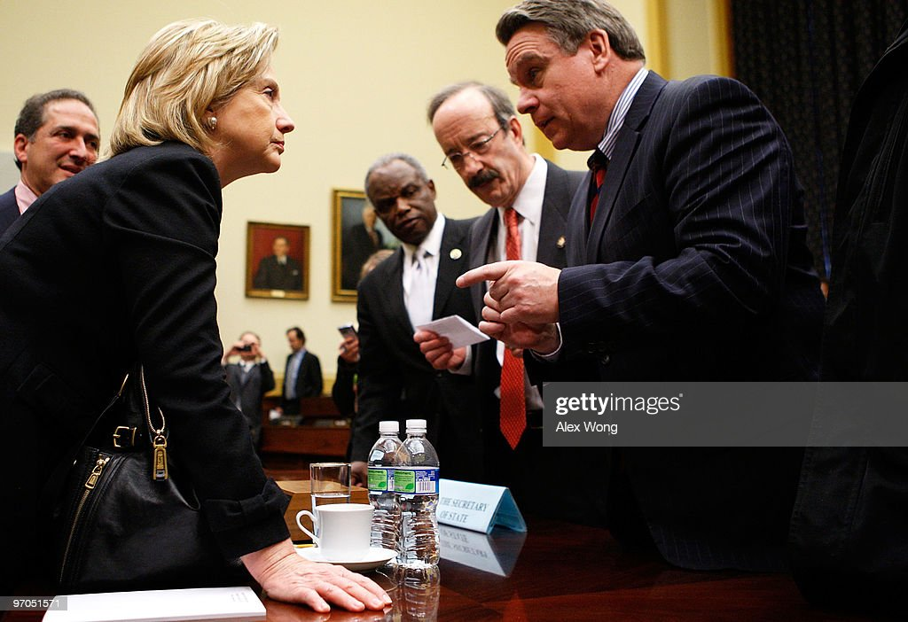 Clinton Testifies Before House Foreign Affairs Committee