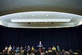 Secretary of State John Kerry announces the release of the 2015 Trafficking in Persons Report' on July 27 2015 at the State Department in Washington...