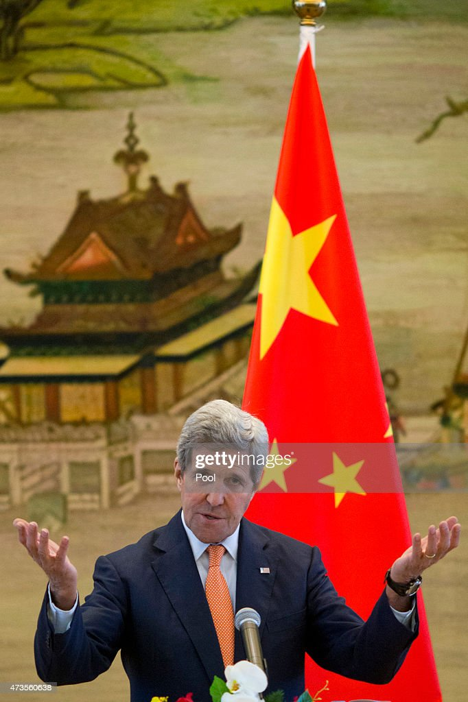 U.S. Secretary of State John Kerry Visits China