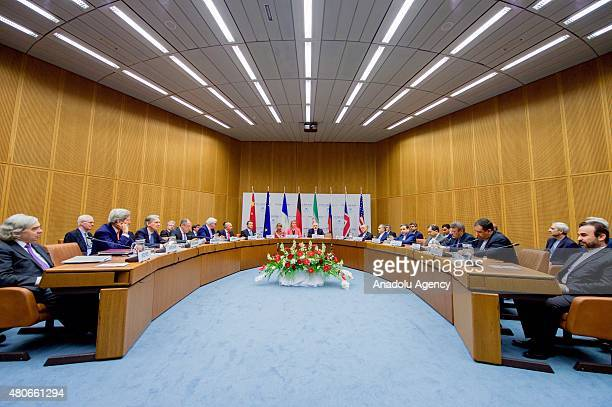 Secretary of State John Kerry British Foreign Secretary Philip Hammond Iran's Foreign Minister Javad Zarif High Representative of the European Union...