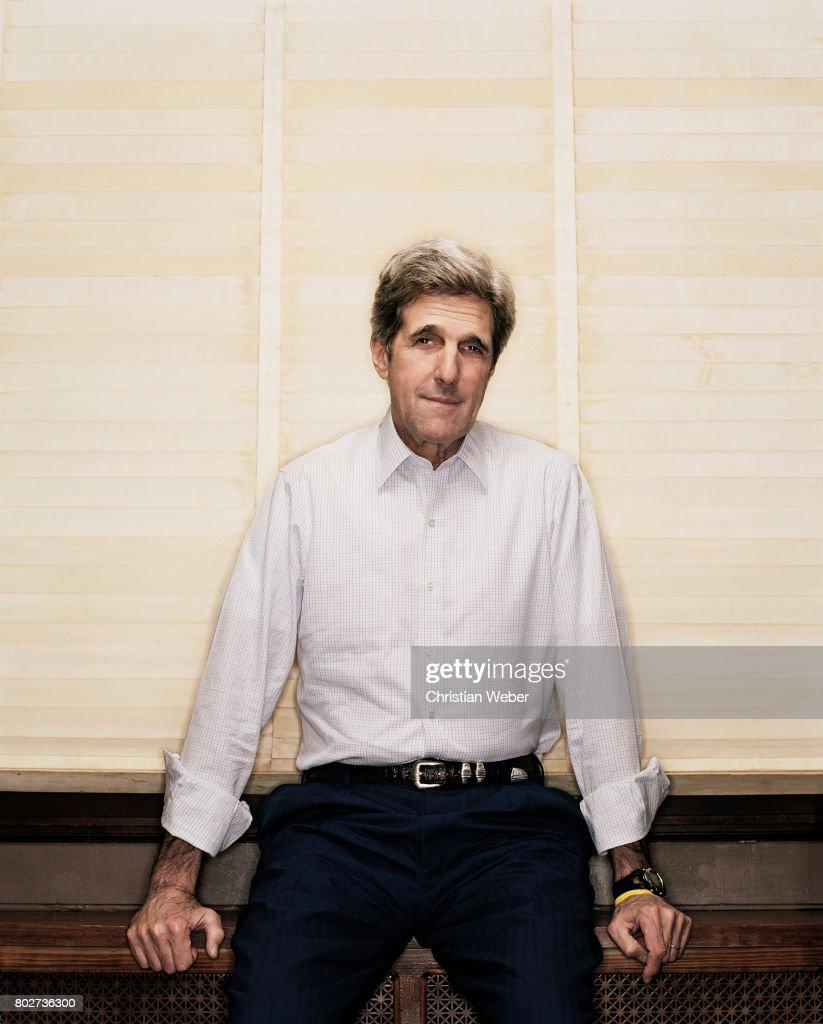 Secretary of State John Kerry for Details Magazine on November 17, 2006 in Washington, DC.