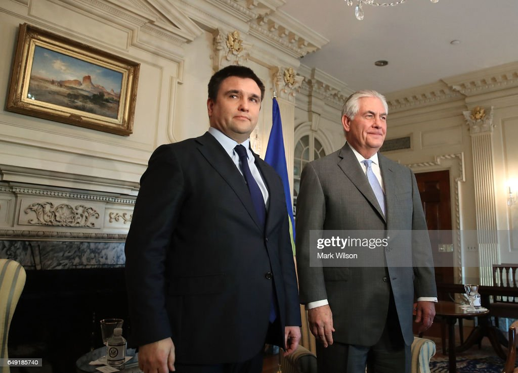 Image result for PHOTOS OF UKRAINIAN FOREIGN MINISTER IN WHITE HOUSE