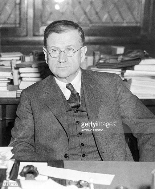 US Secretary of the Interior Harold L Ickes 1934