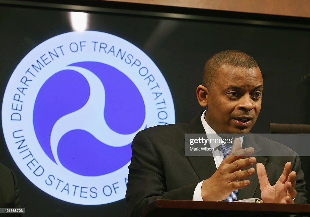 Secretary of Transportation <a gi-track='captionPersonalityLinkClicked' href=/galleries/search?phrase=Anthony+Foxx&family=editorial&specificpeople=7128225 ng-click='$event.stopPropagation()'>Anthony Foxx</a> announces that General Motors has agreed to pay a $35 million civil penalty during a news conference at the Department of Transportation May 16, 2014 in Washington DC. Secretary Foxx said that GM violated federal safety laws in the Chevrolet Cobalt investigation.