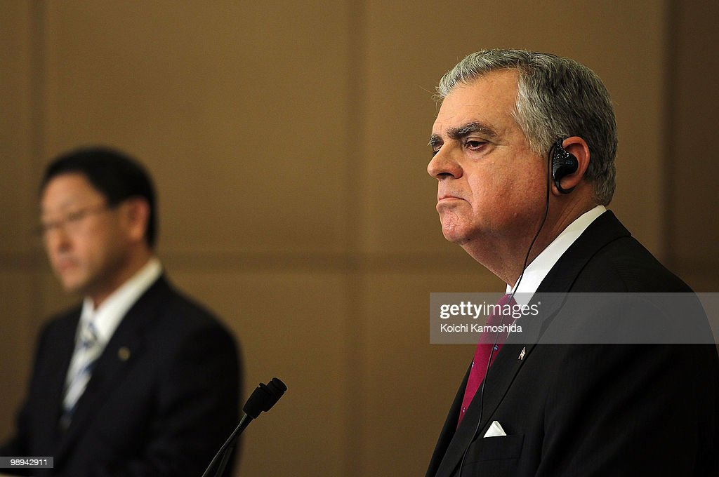 U.S. Transportation Secretary Ray LaHood Visits Toyota Headquarters