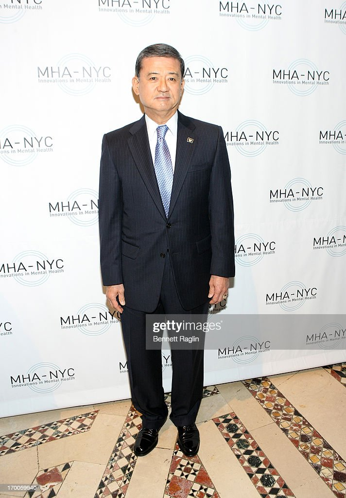 U.S. Secretary of Veterans Affairs Eric K. Shinseki attends the 2013 Where There Is Help, There Is Hope Gala at Cipriani 42nd Street on June 6, 2013 in New York City.