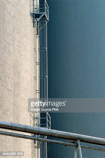 Section of modern building : Stock Photo