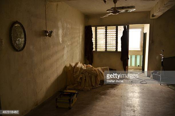 A section of Room 2442 on the Hong Kong film set of Rigor Mortis a horror film about vampires where much of the action takes place The film is Juno...
