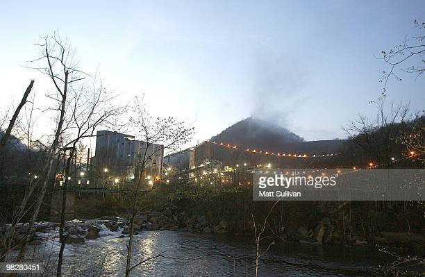 A section on the Upper Big Branch Mine on April 6 2010 in Montcoal West Virginia 25 miners have been killed during an explosion at the Massey Energy...