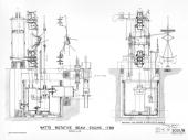 Sectioned view of cyclinder and valves James Watt Scottish engineer and instrument maker invented the modern steam engine which became the main...