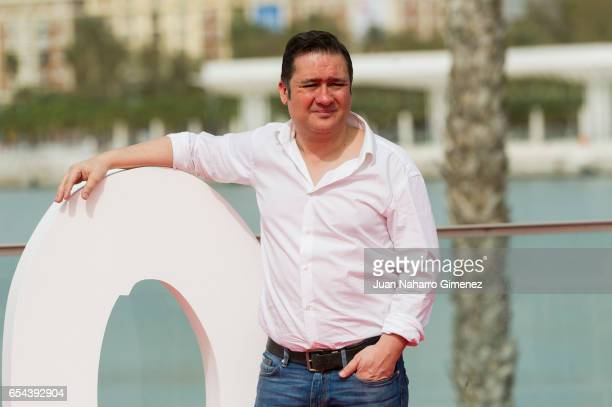 Secun de la Rosa attends 'El Bar' photocall at Muelle Uno on March 17 2017 in Malaga Spain