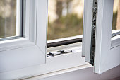Strong modern PVC metal window