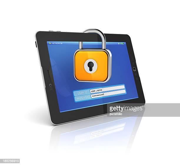 安全なタブレットでログイン