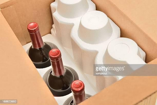Secure de transporte de botellas de vino