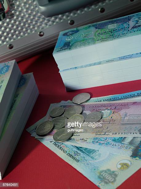 Security Box and bundle of money