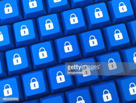 security button : Bildbanksbilder