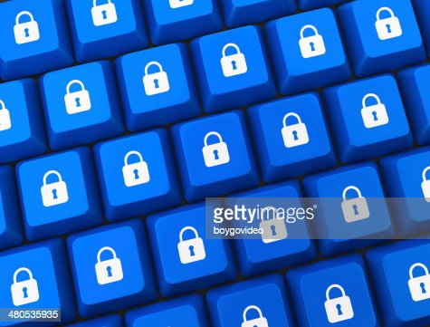 security button : Stock Photo