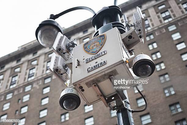 NYPD Caméra de sécurité à Manhattan