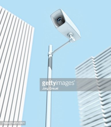 Security Camera Low Angle Stock Photo | Getty Images