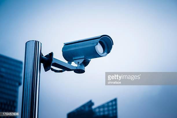 O sistema de videovigilância de circuito fechado Câmara de Segurança
