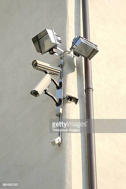 Security cameras and lights