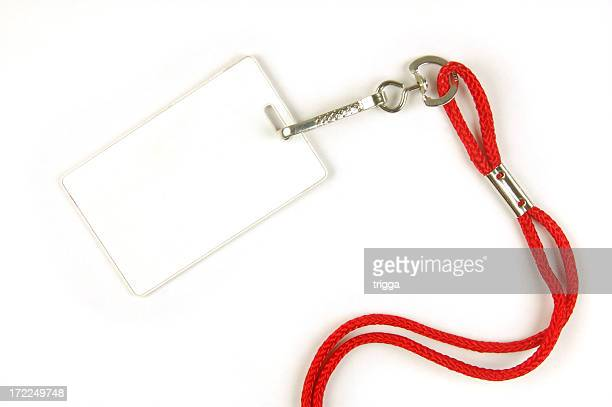 Security card with lanyard