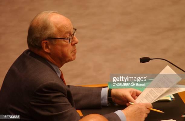 Security Council At The UN On Iraq Disarmament Hans BLIX directeur de la commission de contrôle en Irak dresse un bilan mitigé de ses deux mois de...