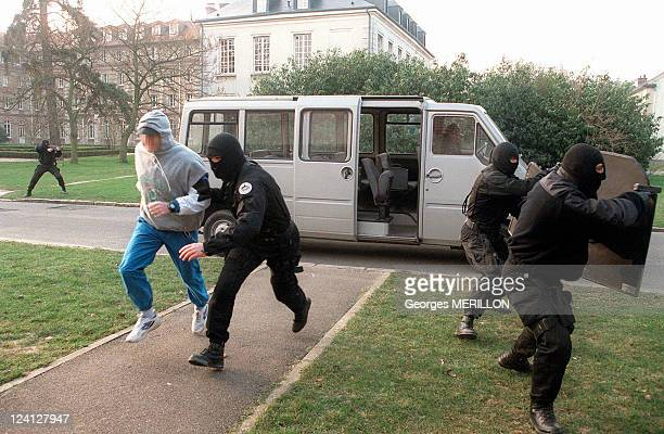 RAID security for the world cup In Saint Denis France On January 28 1998 Athlete's protection