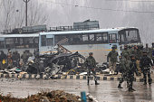 IND: At Least 30 CRPF Jawans Killed, 48 Injured In IED Blast In Kashmir's Pulwama