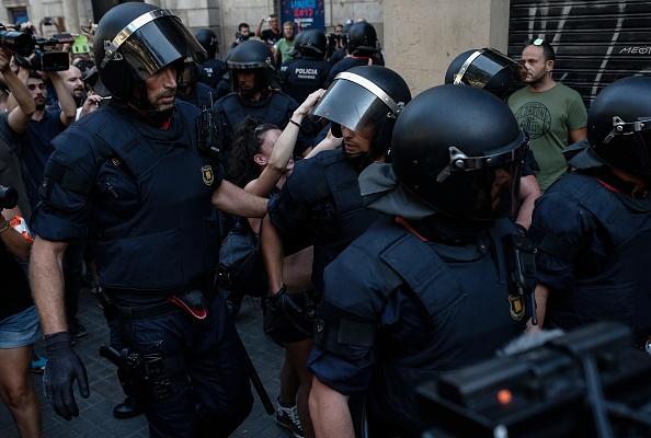 Barcelona terror attack  : News Photo