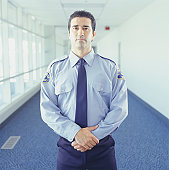 Security guard at airport