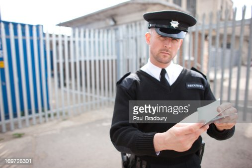 security guard post orders