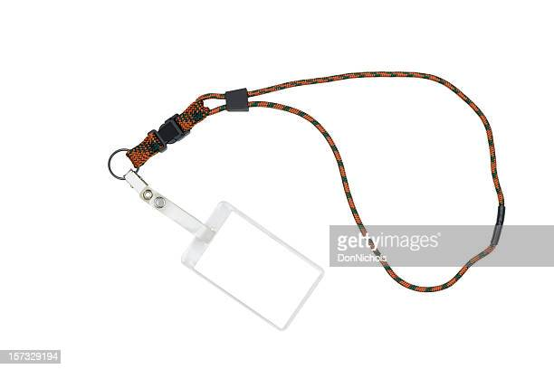 Security ID Badge Name Tag With Lanyard