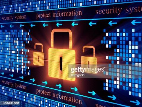 Security lock concept