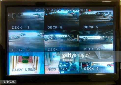 Security Monitoring Screen