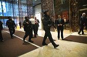 new york ny security officers walk