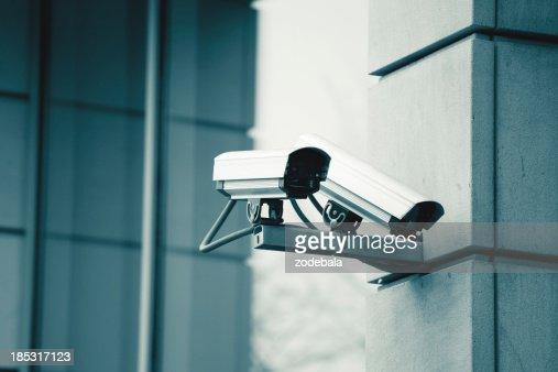 CCTV Security Surveillance Camera : Stock Photo