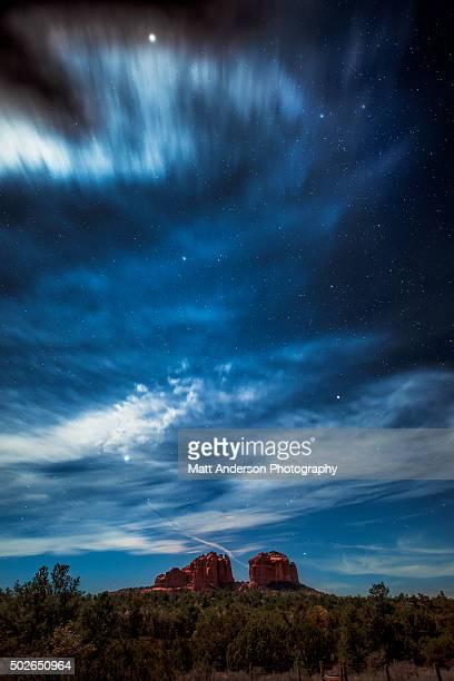 Sedona by Moonlight