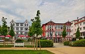 Seebad Bansin Hotel Kaiser Wilhelm und Hotel Germania Die um die Jahrhundertwende entstandene Villa 'Hotel Kaiser Wilhelm' gehoert zu einem der...