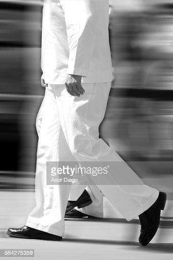 Seeman walking