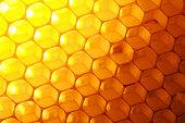 Seeping honeycomb, backlight