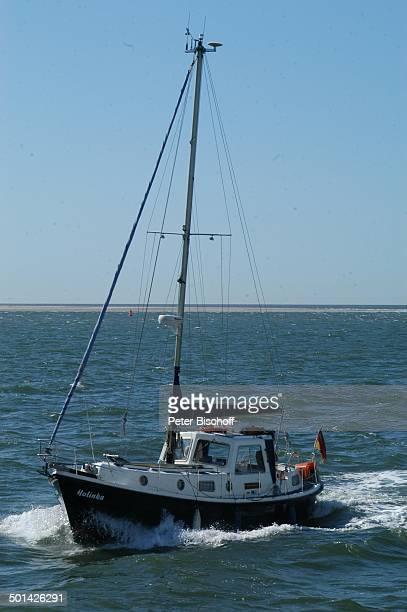 Segelboot Ostfriesische NordseeInsel Norderney Niedersachsen Deutschland Europa Boot Reise BB DIG PNr 1553/2007