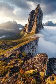 Segla peak in Norway (Segla area)