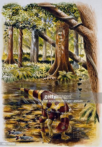 Segnosaurus galbinensis Therizinosauridae Late Cretaceous Illustration